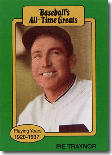 10-Count Lot 1987 Pie Traynor Hygrade All-Time Greats