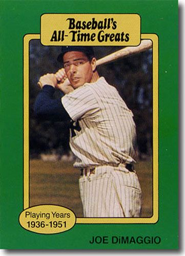 25-Count Lot 1987 JOE DIMAGGIO Hygrade All-Time Greats
