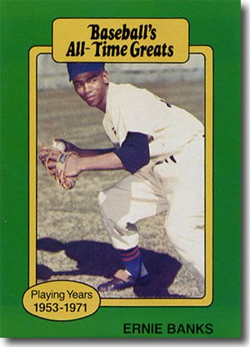5-Count Lot 1987 ERNIE BANKS Hygrade All-Time Greats