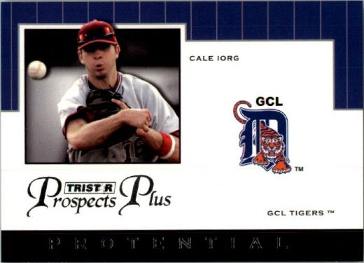 2007 CALE IORG TriStar Prospects Plus Rookie PROTENTIAL RC