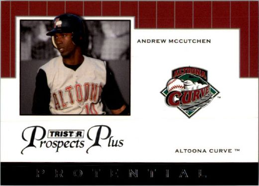 2007 * ANDREW McCUTCHEN * TriStar Prospects Plus Rookie PROTENTIAL RC PIRATES