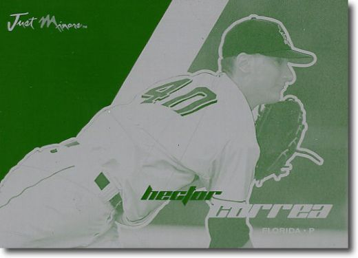 2008 Hector Correa Rookie Printing Press Plate RC 1/1