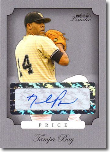 2008 DAVID PRICE Rookie LIMITED Autograph Mint SILVER Auto RC #/100