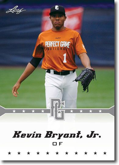 5-Count Lot KEVIN BRYANT JR. 2013 Leaf Perfect Game Rookie Silver RCs