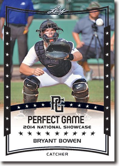 10-Count Lot BRYANT BOWEN 2014 Leaf Perfect Game All-American Rookies