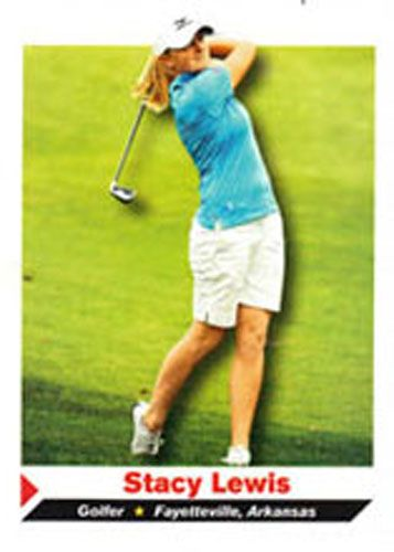 2011 Sports Illustrated SI for Kids #40 STACY LEWIS Golf Card (QTY)
