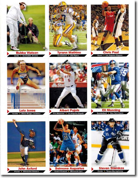 (100) 2012 Sports Illustrated SI for Kids #136 BUBBA WATSON Golf Rookie Cards