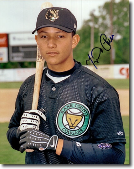 MIGUEL CABRERA 2002 Certified Autograph Rookie #2 Auto 8x10 Photo TIGERS