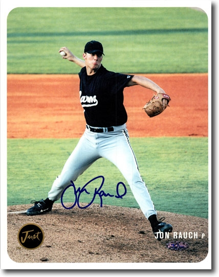 JON RAUCH 2002 Certified Autograph Rookie Auto 8x10 Photo WHITE SOX
