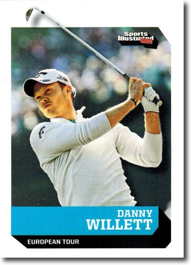 2016 Sports Illustrated SI for Kids #525 DANNY WILLETT Rookie Golf Card