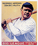 BABE RUTH 1933 Goudey Yellow Card #53 Reprints YANKEES