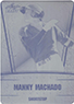 MANNY MACHADO 2011 Leaf Draft Rookie Card Press Plate RC ORIOLES 1/1
